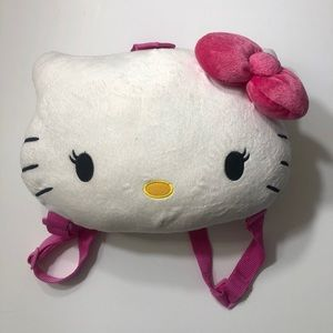 A cute little girls Hello Kitty backpack.